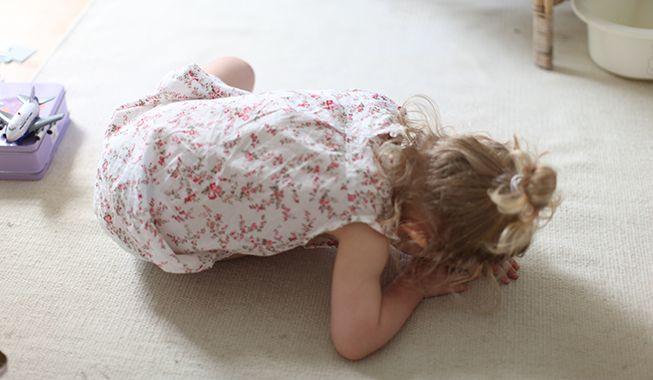 En undersøgelse af lyde viser, at børn er både vrede og kede af det under et hysterianfald. Foto: Nimastock