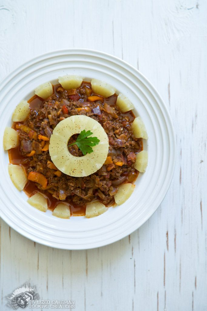 Weekly Meal Plan (04/25/2014): Spicy Pineapple Chili from Civilized Caveman Cooking Creations.