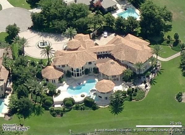 Want to see where the celebs live? Check this out - view the grand estates of Oprah, JLO, Jennifer Aniston, Tom Brady, Kanye West and more.