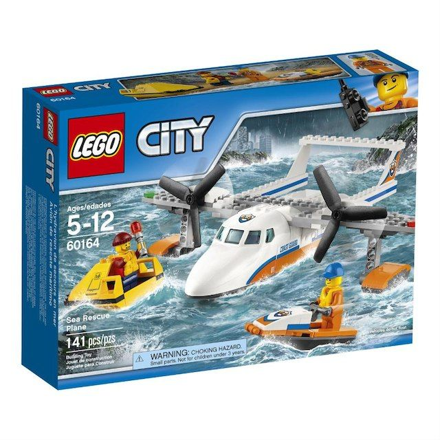 LEGO City Coast Guard Sea Rescue Plane (60164) $24.99....any LEGO City sets, but this one specifically is his favorite and wants!