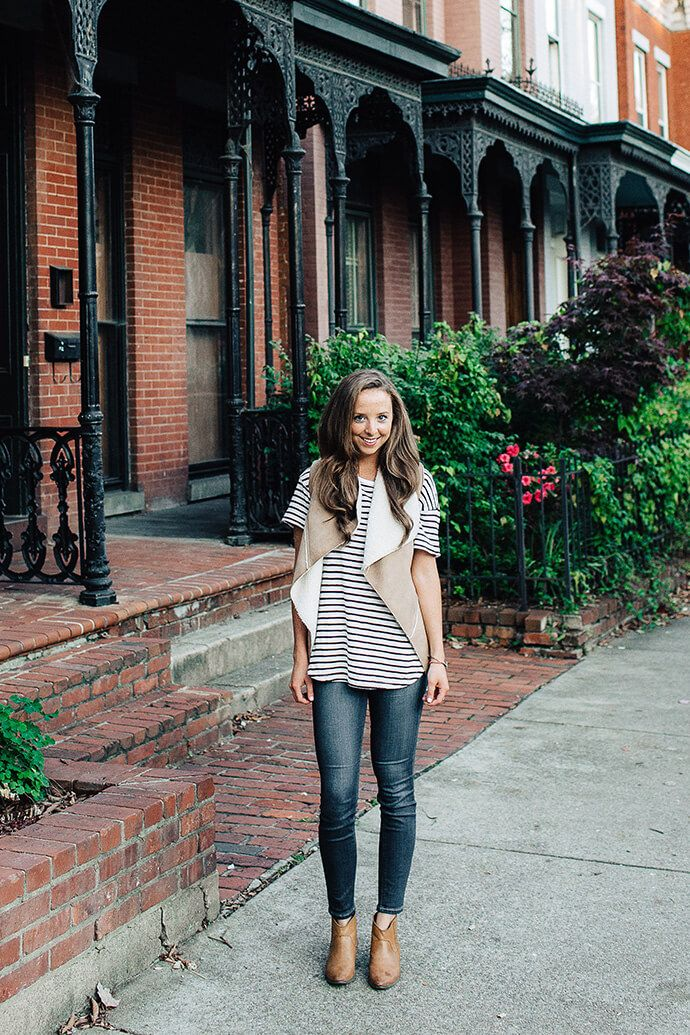 Designer Kara Vacca in her Church Hill #RVA home for The Glitter Guide