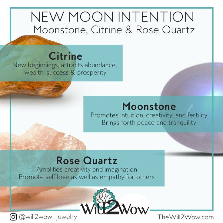 Charging crystals charge crystals new moon rituals new