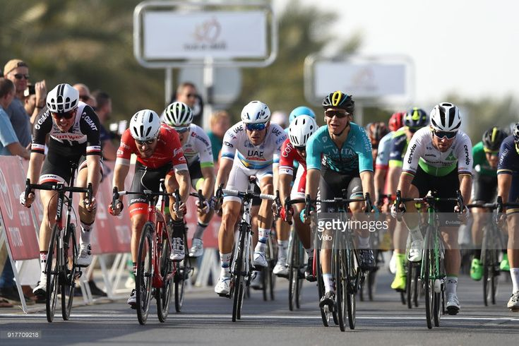 #TOO2018 9th Tour of Oman 2018 / Stage 1 Arrival / Sprint / Bryan Coquard of France / Mark Cavendish of Great Britain / Alexander Kristoff of Norway / Giacomo Nizzolo of Italy / Max Walscheid of Germany / Nizwa - Sultan Qaboos University (162.5km)/ Oman Tour / © Bryn LennonVelo/Tim De Waele/Getty Images)