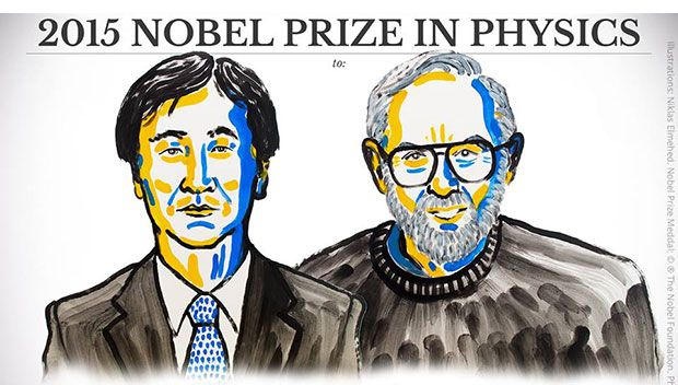 Premio Nobel 2015: a Takaaki Kajita e Arthur B. McDonald il Nobel per la fisica