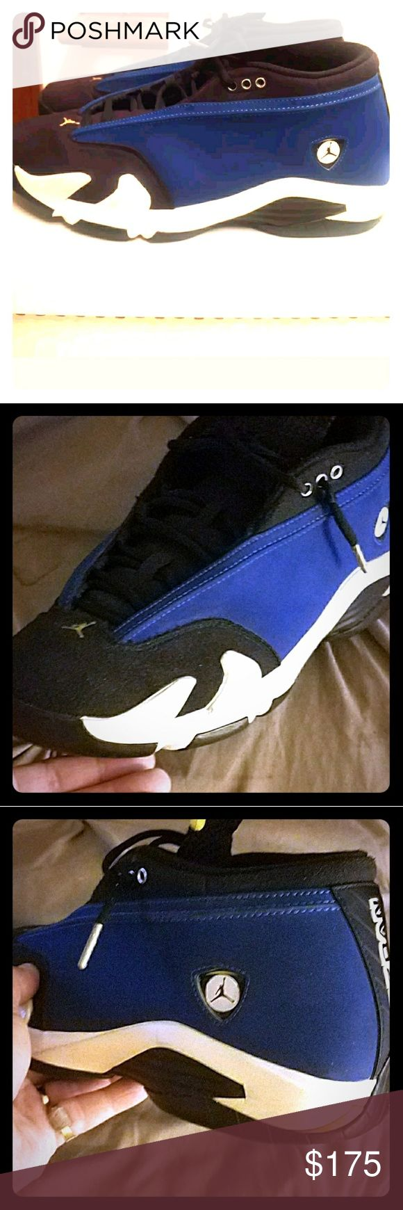 Jordan 14 low Laney's Like new. Only worn a few times... NO BOX Very clean shoe Jordan Shoes Sneakers