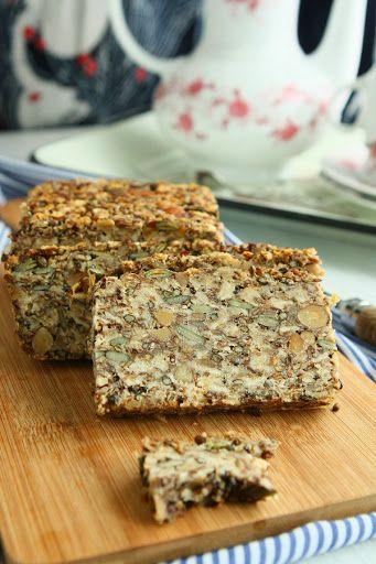 Vegan Gluten Free Seeded Oat Bread