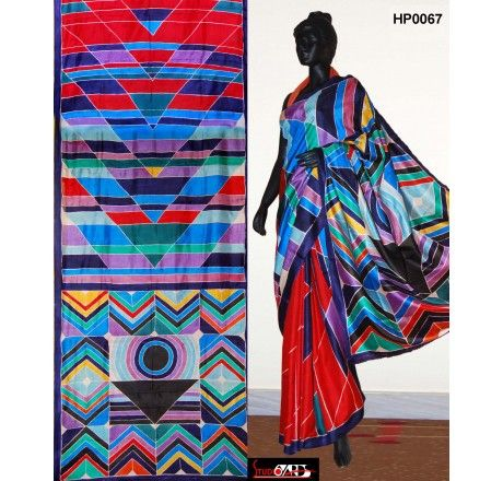 Special Hand Painted Saree