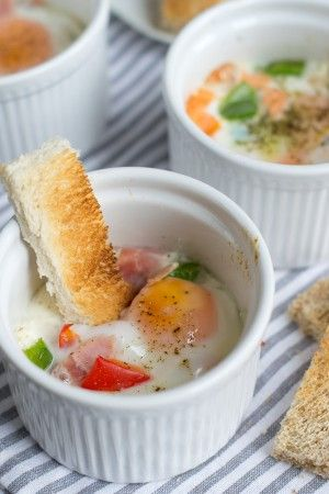 Eierpotjes (ook leuk voor de paasbrunch) - BrendaKookt