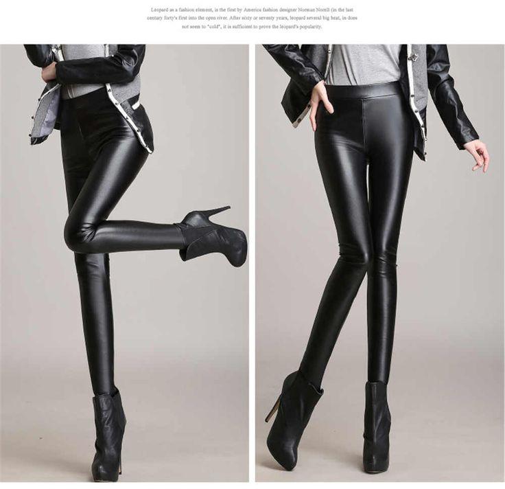 1000 ideas about pantalon simili cuir femme on pinterest. Black Bedroom Furniture Sets. Home Design Ideas