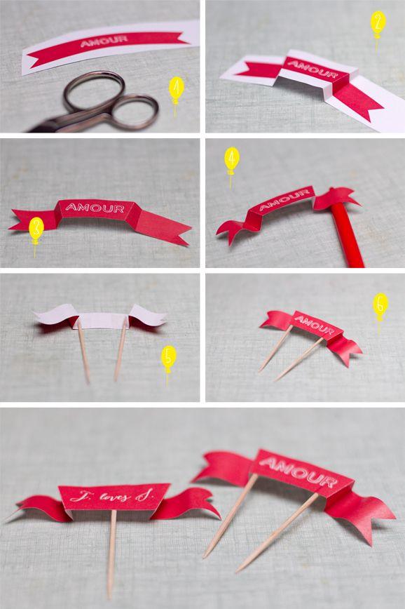 Les petites banderoles - Blog Un Beau Jour