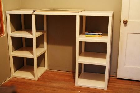 Parson Tower Desk | Do It Yourself Home Projects from Ana White - $150