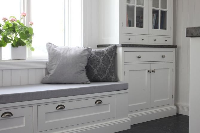 I would really like a bench like this in my future #kitchen. This one is from #Kvänum