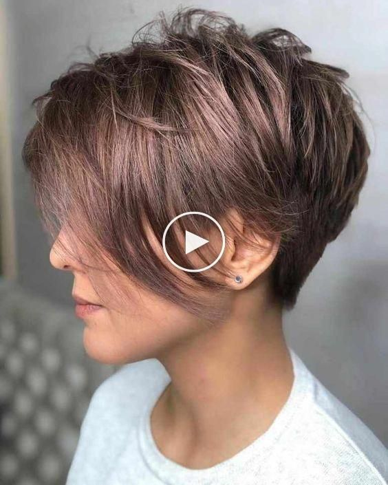 Stylish Simple Elf Haircut for Women – Cute Short Hairstyle Ideas #shorthairideas – casa