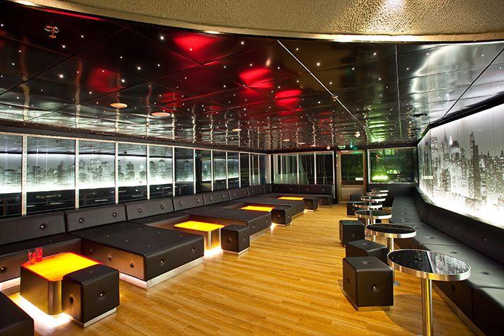 New York Club&Lounge. Suunnittelu: Sisustusarkkitehti Marjut Nousiainen.