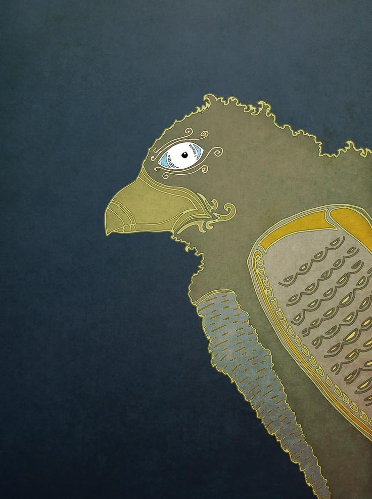 Eagle. By Valter Edberg.