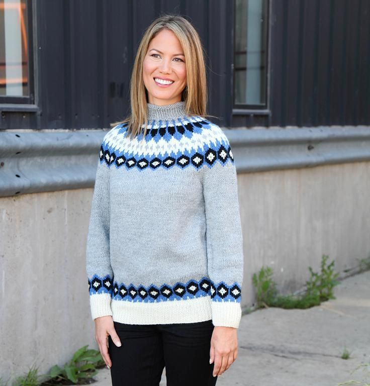 Aspen Sweater by LionBrandYarns | Knitting Pattern - Looking for your next project? You're going to love Aspen Sweater by designer LionBrandYarns. - via @Craftsy 18 m = 10 cm