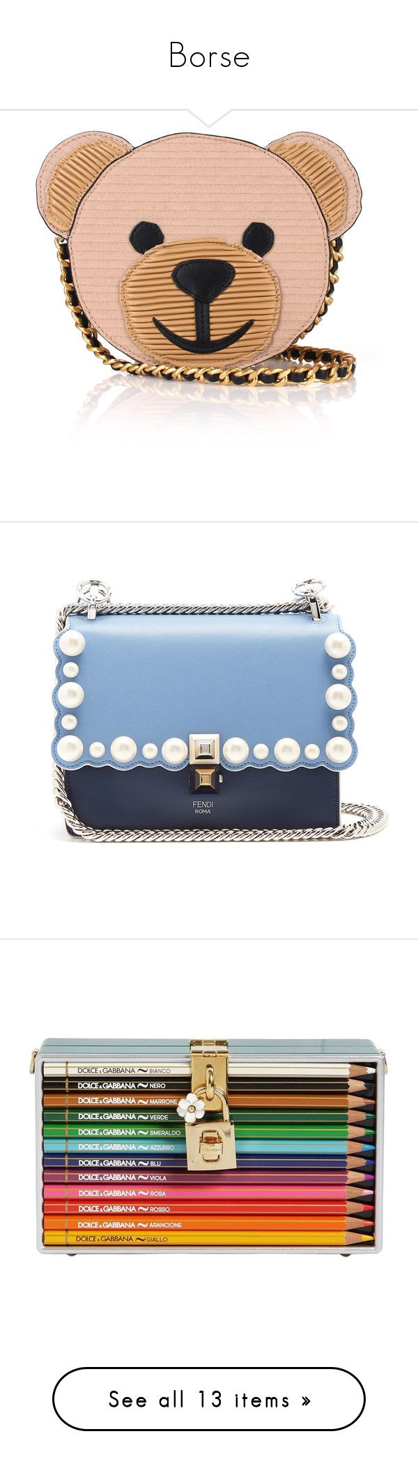Borse by ileanarod on Polyvore featuring polyvore women's fashion bags handbags shoulder bags purses borse bolsos red handbags handbags shoulder bags cross-body handbag shoulder handbags chain shoulder bag light blue leather purses leather shoulder handbags leather crossbody handbags leather cross body purse over the shoulder bags clutches fillers multicolor hard clutch embellished purse colorful handbags multi colored clutches kiss-lock handbags black chain strap purse chain strap handbags…