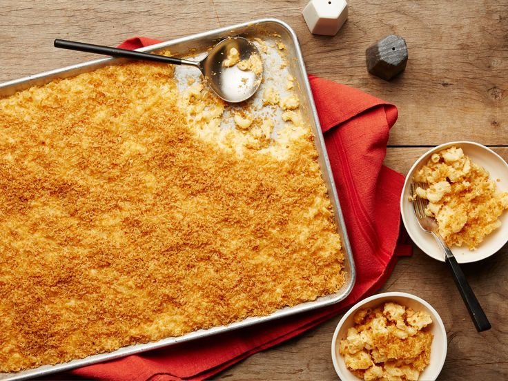 Extra-Crunchy Sheet-Pan Mac and Cheese recipe from Food Network Kitchen via Food Network
