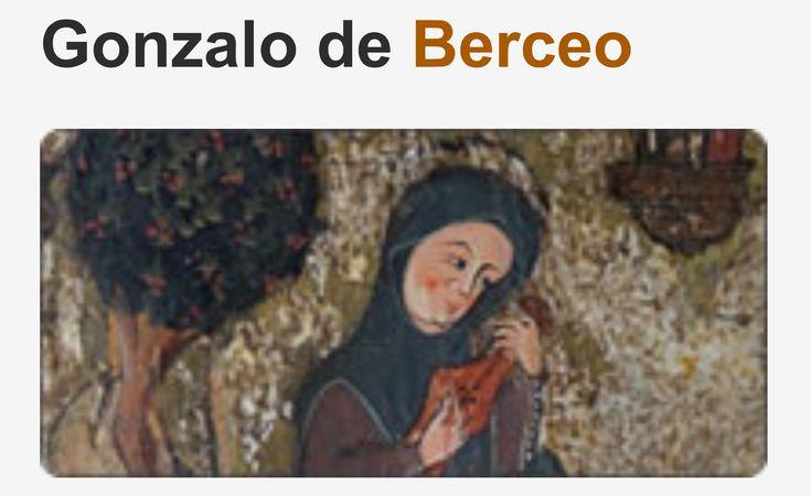 Gonzalo de berceo el primer poeta espa ol de nombre for Sala gonzalo de berceo