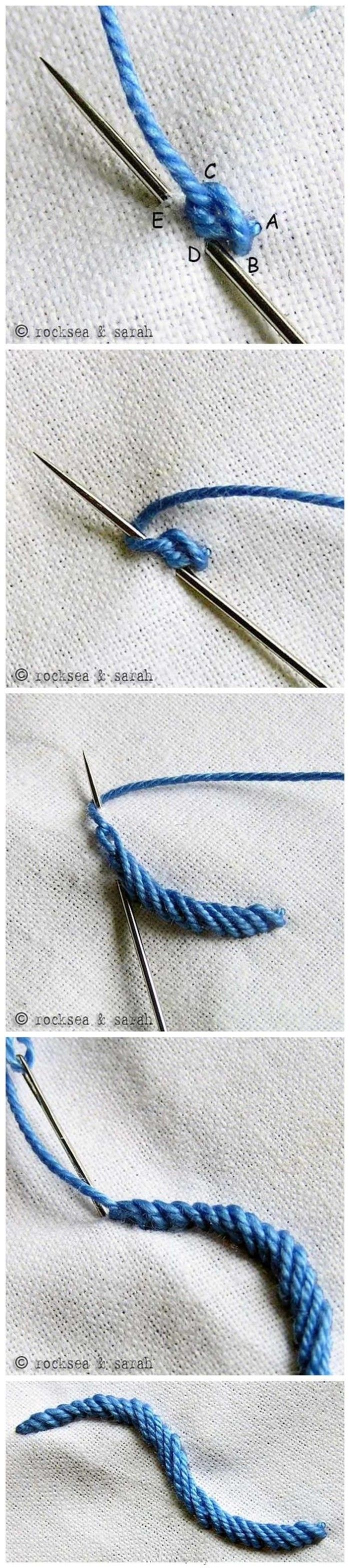 {} Various embroidery needle. [A] group meatball