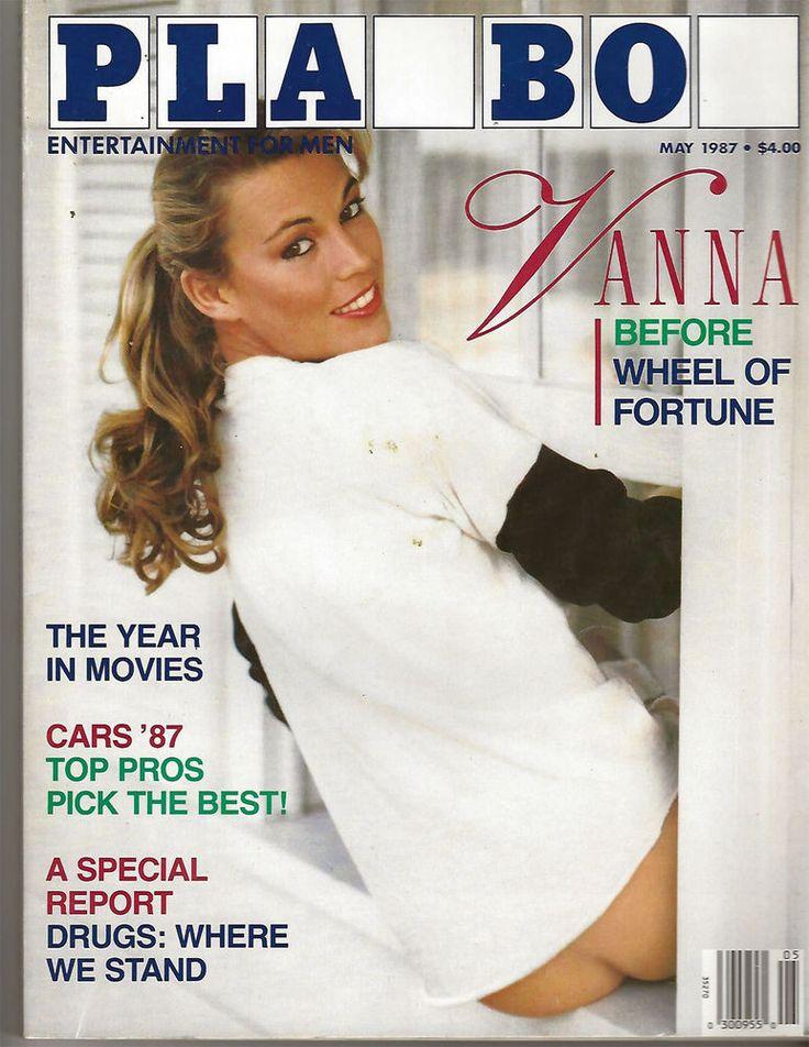 Playboy's May 1987 Vanna White Magazine B12