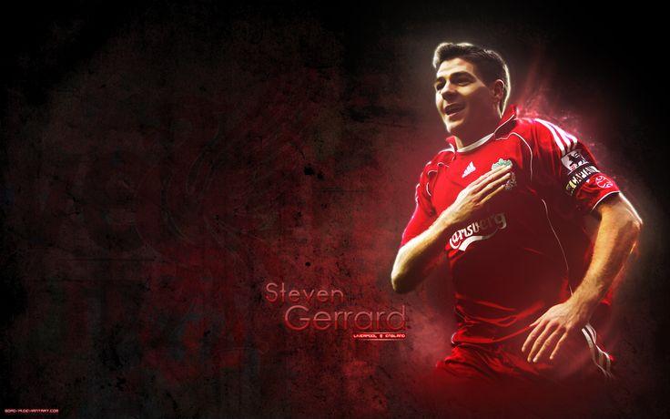 Steven Gerrard Wallpaper - http://www.wallpapersoccer.com/steven-gerrard-wallpaper.html
