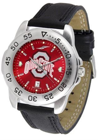 Ohio State Buckeyes OSU NCAA Mens Sport Anochrome Watch SunTime. $56.95. AnoChrome Dial Enhances Team Logo And Overall Look. Adjustable Band. Men. Leather Band. Officially Licensed Ohio State Buckeyes Men's Leather Band Sports Watch. Save 21% Off!