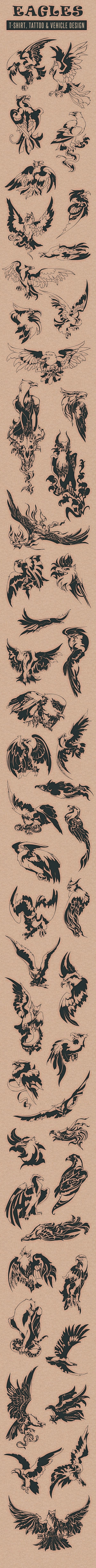 Eagles by Nhat Tien, via Behance