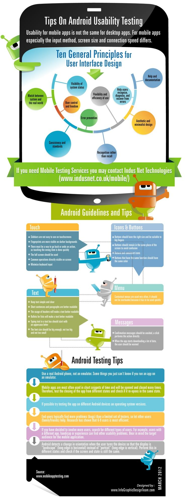 Fruitful Tips on #AndroidApp Usability Testing: http://bit.ly/1g8Pinw