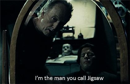 Saw V - Tobin Bell 'Jigsaw'