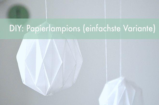 DIY-Tutorial: Origami-Lampions | Dein Hochzeitsblog | Der Hochzeitsblog für moderne und kreative Hochzeiten