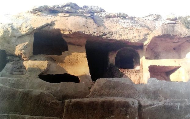 The Ta'Bistra Catacombs are the largest of catacombs that have been found outside Rabat. Il-Mosta, Malta