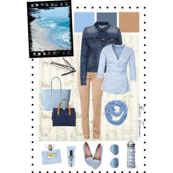 Inspiration: Blue sea meeting a sandy beach.
