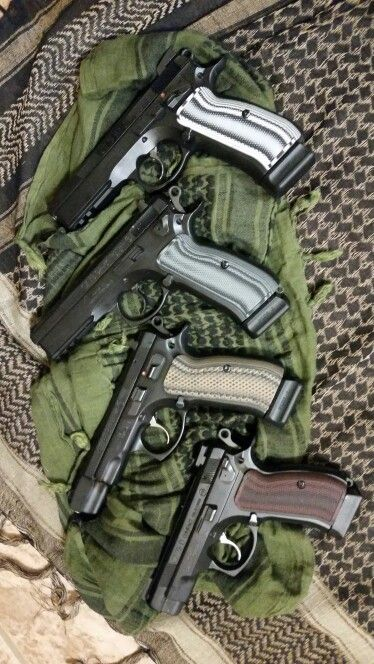 Cz-75 sp01 shadow, tactical,  85 and compact . Vz grips Find our speedloader now! http://www.amazon.com/shops/raeind
