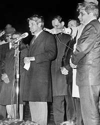 Bobby's Kennedy speech in Indianapolis, april 1968