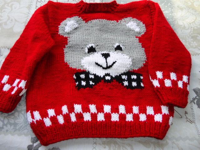 knitted toddler jersey [] # # #Toddlers, # #Tissues, # #Knitting