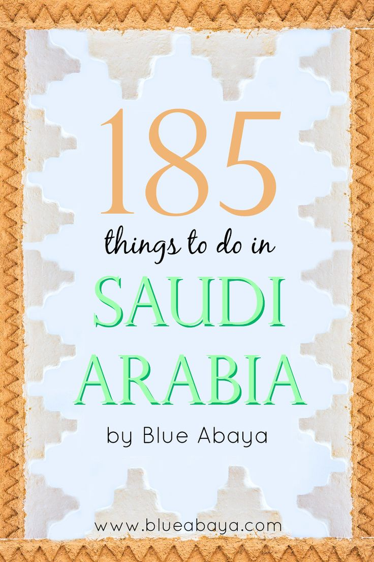 185 Things to do in KSA                                                       …