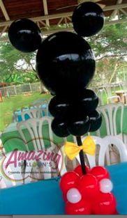 Mickey Mouse Balloon Centerpiece                                                                                                                                                      More