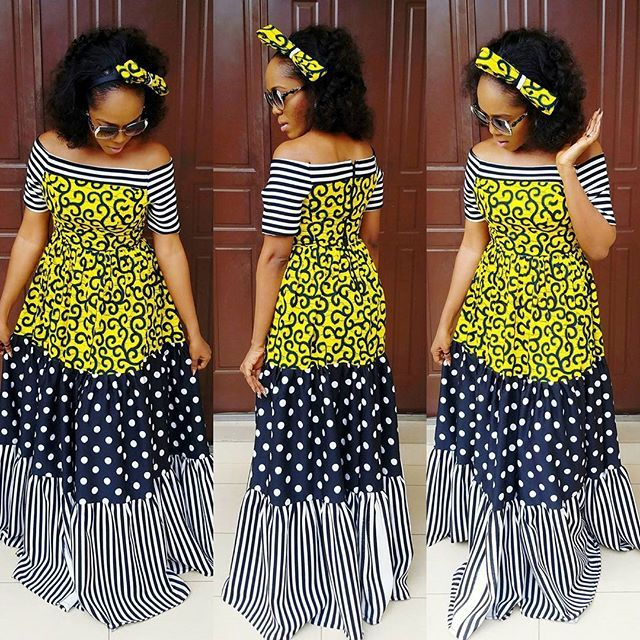 Fashionable and Classic Ankara Gowns 2018 You Will Love to Have...Fashionable and Classic Ankara Gowns 2018 You Will Love to Have