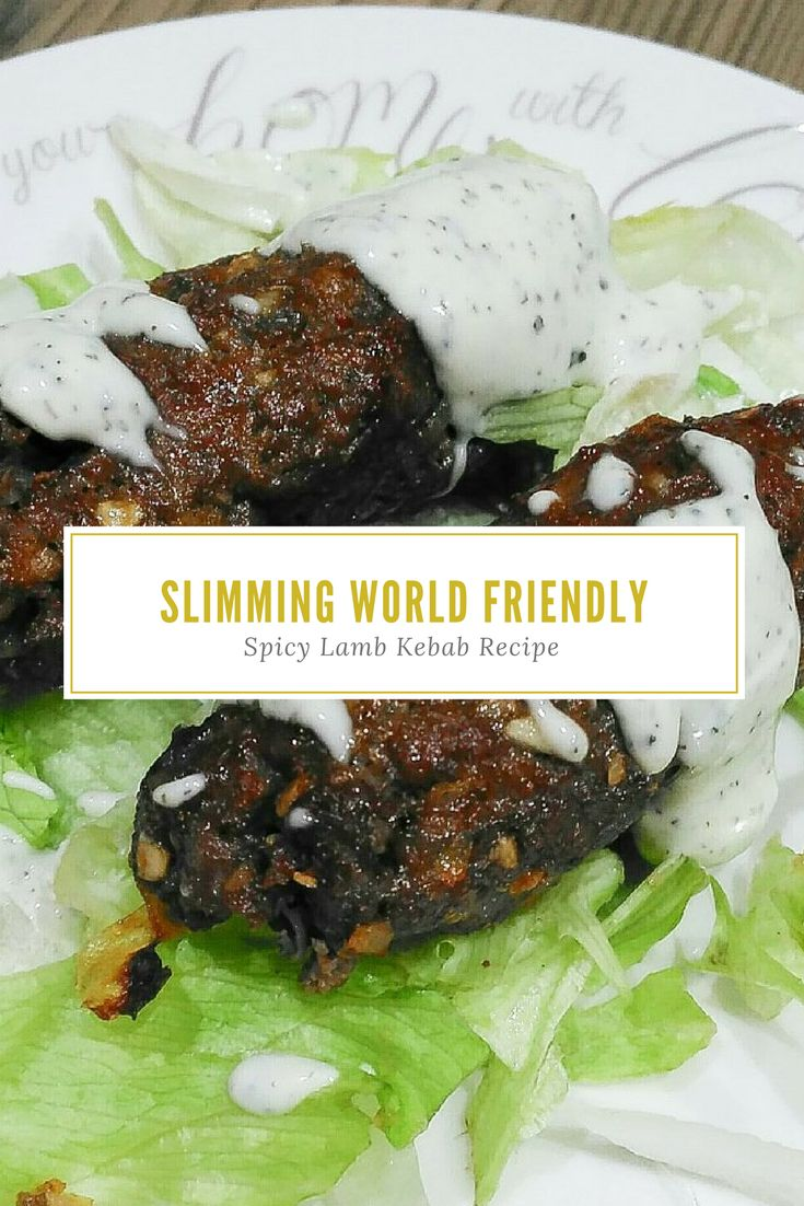 Slimming World Friendly Spicy Lamb Kebab Recipe