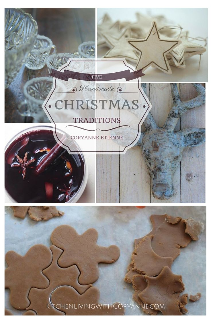 Celebrate with a handmade Christmas this year with tips form Coryanne Ettiene