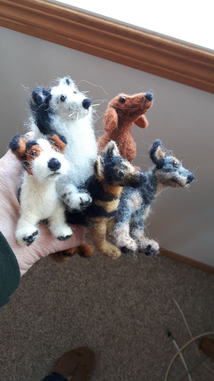 Dogs by Michelle Houston of The Wild'N Wooly