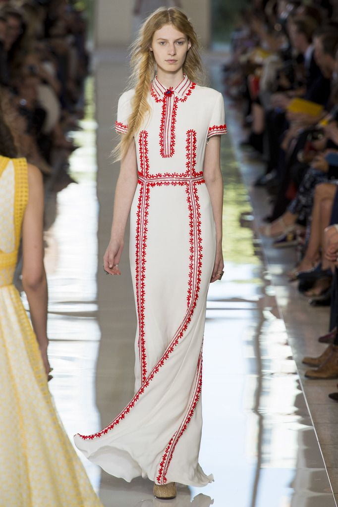 Tory Burch Spring 2013 collection.