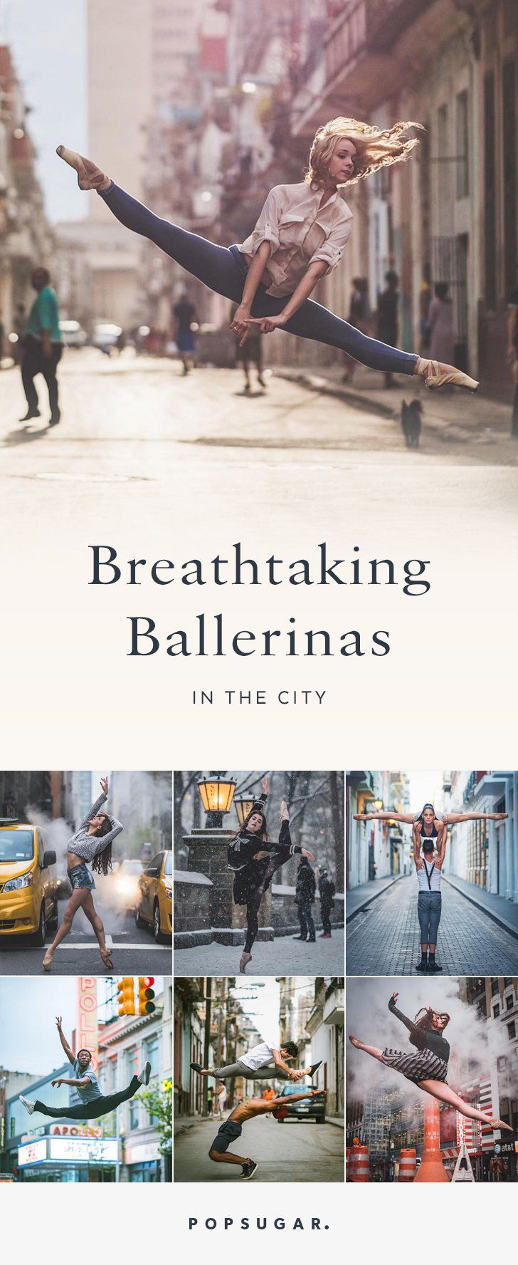 23 Breathtaking Shots of Ballerinas Against City Backdrops
