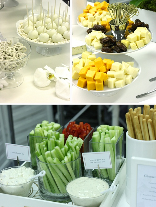 food presentation - different way to do vegies and dip. Follow us @SIGNATUREBRIDE on Twitter and on FACEBOOK @ SIGNATURE BRIDE MAGAZINE