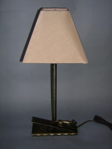 Dog agility teeter lamp