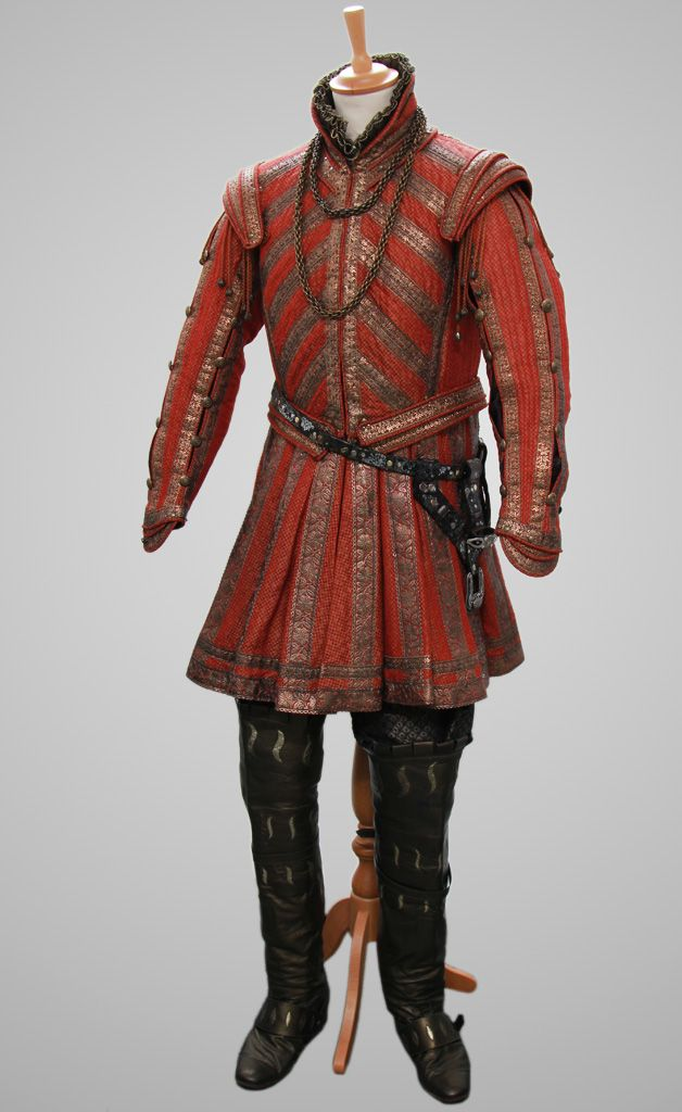 Costume worn by Henry VIII on The Tudors.