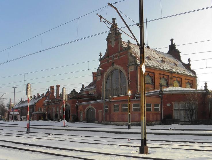 .Opole - old train station