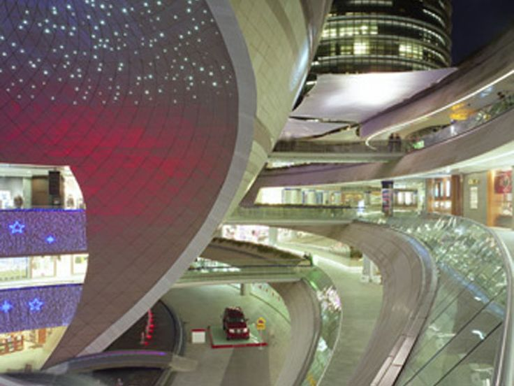 Kanyon, Istanbul is one of Europe's largest mixed-use contemporary districts.