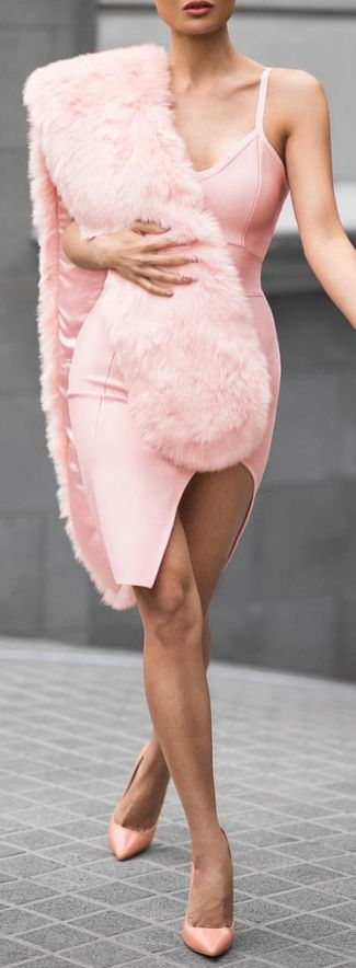 $59.99 V Neck Spaghtti Straps Sexy Bandage Dress